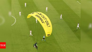 Snipers 'were ready to shoot' Greenpeace Euro 2020 parachutist | Football News - Times of India