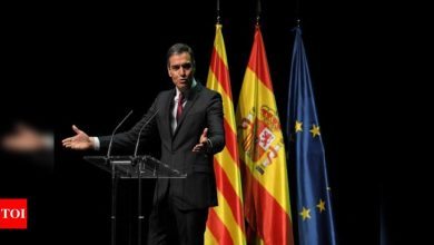 Spain to pardon Catalan separatist leaders on Tuesday - Times of India