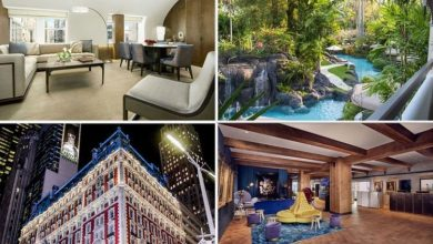 Stunning pictures of the world's most sought after hotels but the price may put you off