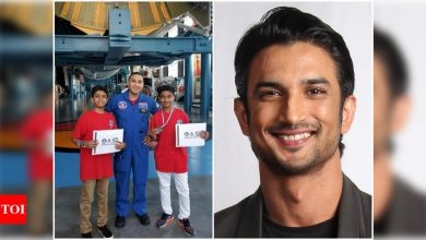 Sushant Singh Rajput wanted to send 100 Indian students to NASA - Times of India