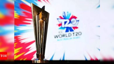 T20 World Cup 2021: T20 World Cup to be held from October 17 to November 14: ICC   Cricket News - Times of India