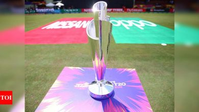 T20 World Cup set to be moved out of India, ICC intimated internally | Cricket News - Times of India
