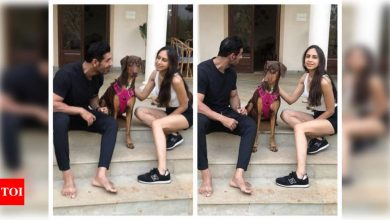 THESE pictures of John Abraham with his wife Priya and their pet dog are too sweet for words - Times of India