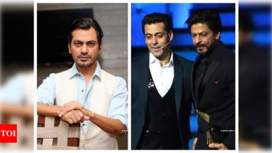 THIS is what Nawazuddin Siddiqui feels is the difference between working with Shah Rukh Khan and Salman Khan - Times of India