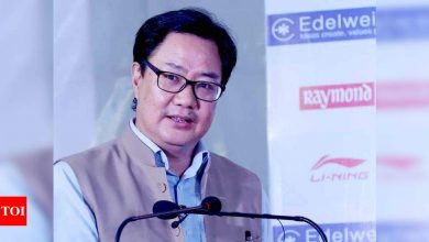 There can't be any discrimination: Kiren Rijiju on additional COVID-19 restrictions on India's Olympic-bound contingent   More sports News - Times of India
