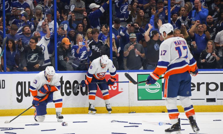This Islanders' defeat will sting for a while