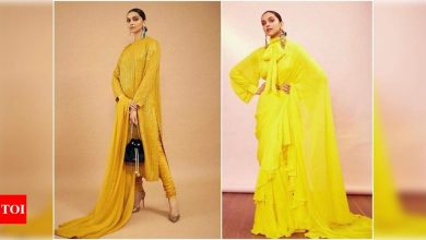 Throwback: When Deepika Padukone showed us the best way to rock yellow - Times of India