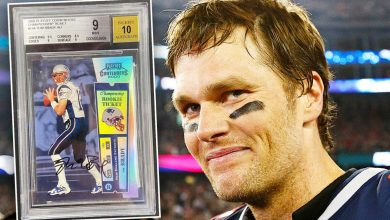 Tom Brady sets yet another NFL record as rookie trading card sells for $3.1M