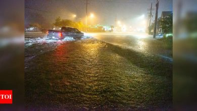Tropical Storm Claudette brings rain, floods to Gulf Coast - Times of India