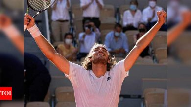 Tsitsipas becomes first Greek to reach Grand Slam final at French Open | Tennis News - Times of India