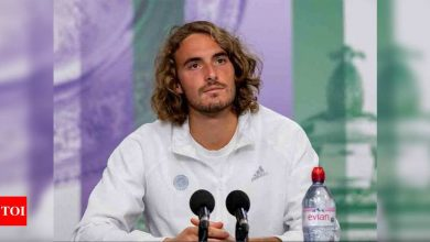 Tsitsipas hails Djokovic as 'one of the greatest' | Tennis News - Times of India