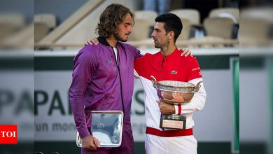 Tsitsipas learned of grandmother's death minutes before French Open final | Tennis News - Times of India