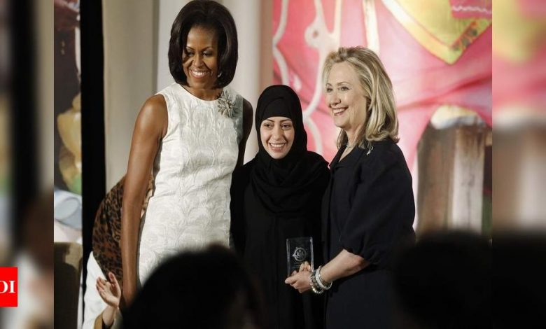 Two Saudi women's rights activists released from prison - Times of India