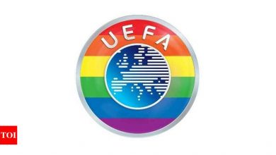 UEFA adds rainbow to logo in Hungary row | Football News - Times of India