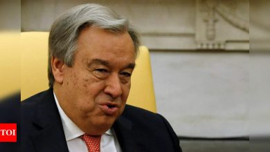 UN chief Antonio Guterres appointed for second term - Times of India