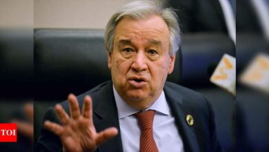 UNSC recommends Antonio Guterres for second term as UN chief - Times of India