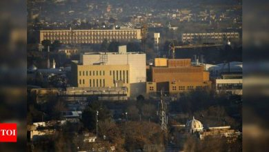 US locks down embassy in Afghanistan amid Covid-19 surge - Times of India