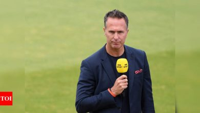 'Utterly ridiculous, witch hunt has to stop': Vaughan on investigation into alleged racist tweets | Cricket News - Times of India