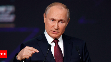 Vladimir Putin chafes at US, criticizes its response to Capitol siege - Times of India