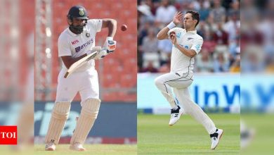 WTC Final: I will be looking forward to Boult vs Rohit contest, says Sehwag   Cricket News - Times of India