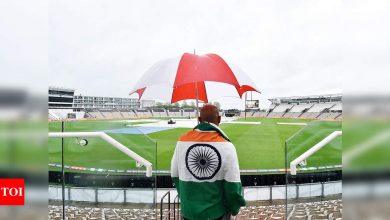 WTC Final, India vs New Zealand: More heavy rain in Southampton; Day 4 fate hangs in the balance   Cricket News - Times of India