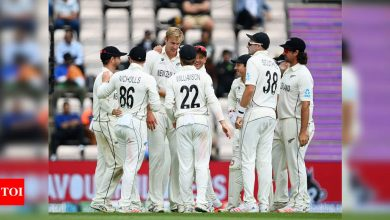 WTC final, Day 3: Kyle Jamieson's five-for, Devon Conway's fifty help New Zealand take control | Cricket News - Times of India
