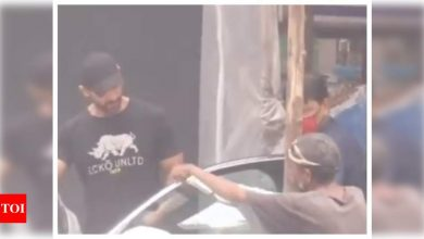 Watch: John Abraham stops to patiently hear out a person who wanted to talk to him and it is winning the internet - Times of India