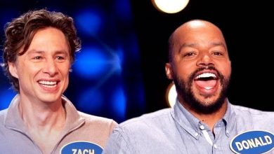 Watch the cast of 'Scrubs' reunite on 'Celebrity Family Feud'
