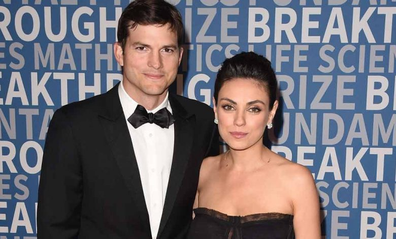 Mila Kunis & Ashton Kutcher Once Took A Potshot At A Tabloid For Reporting Fake News About Their Marriage