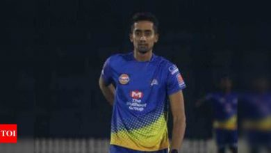 When you train with best, you only get better: India's new net bowler R Sai Kishore | Cricket News - Times of India