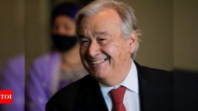Will 'do everything' to contribute to a better future for all: Guterres on new innings as UN chief - Times of India