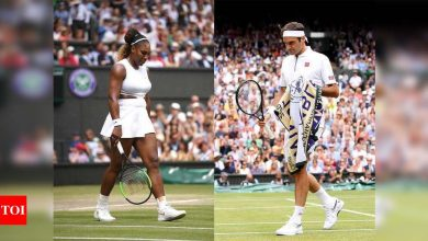 Will it be the final time for Serena Williams and Roger Federer at Wimbledon?   Tennis News - Times of India
