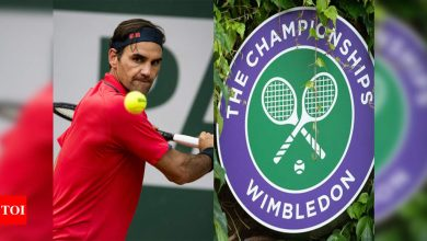 Wimbledon calls to Federer to keep Grand Slam legacy alive | Tennis News - Times of India