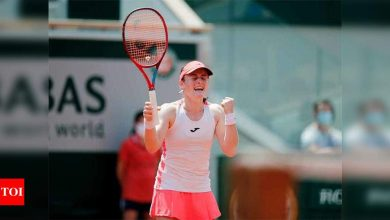World number 85 Zidansek reaches French Open semi-finals   Tennis News - Times of India