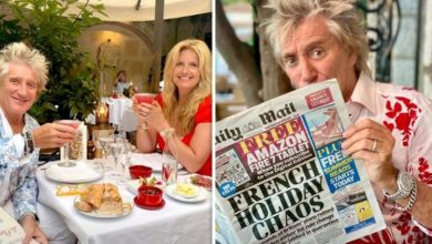'Another fine mess' Rod Stewart hits out over France 'holiday chaos' amid restrictions