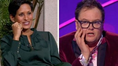 'Are you bored of me?' Naga Munchetty hits back as her interview gets cut short