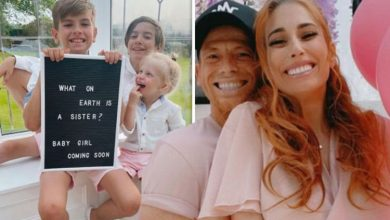 'Can't believe it' Stacey Solomon confirms she and Joe Swash are expecting first baby GIRL