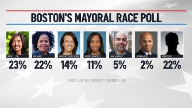 Michelle Wu and Kim Jayne Sit Atop Polls for Boston Mayor, but Many Remain Undecided