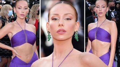 Cannes 2021: Elite actress Ester Exposito flashes midriff in risqué chiffon gown