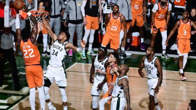 Bucks even NBA Finals with thrilling comeback win over Suns