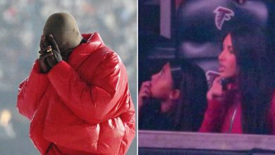 Kanye cries about 'losing my family' at 'Donda' listening party with Kim