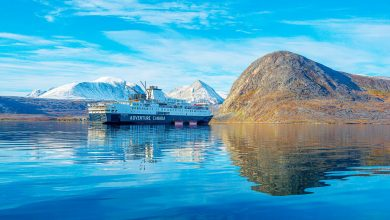 Canadian cruise company offers 'off-the-map' tours of marine landscape