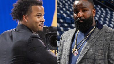 Kendrick Perkins flubs Moses Moody's name repeatedly in NBA Draft hilarity