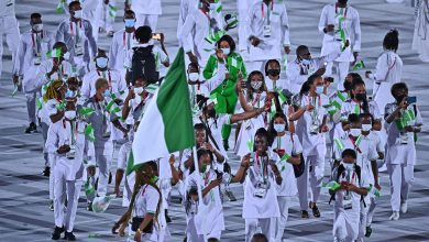 Nigerians banned from Olympics for missed doping tests protest in Tokyo