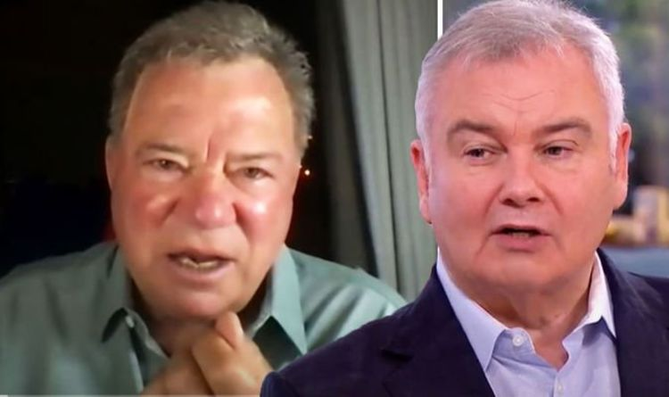 This Morning's Eamonn Holmes replies to 'warp speed' claim about William Shatner interview