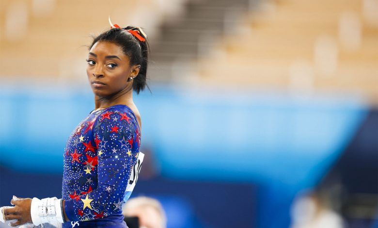 Simone Biles withdraws from two event finals at the Olympics