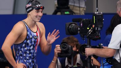 Katie Ledecky wins her second gold medal of the Olympics
