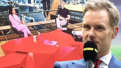 'No-one tells me anything' Dan Walker reacts after Olympics fans point out wardrobe fail