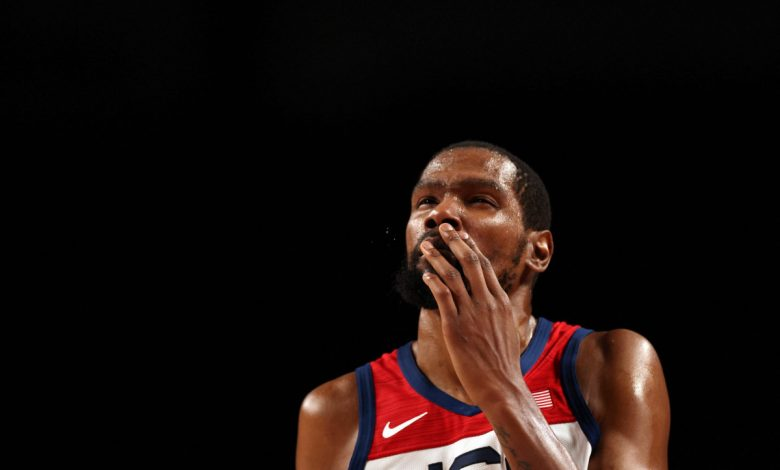 Kevin Durant becomes Team USA's all-time leading scorer in knockout-round clincher
