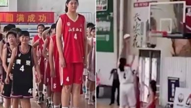 7-foot-4 Chinese teenager Zhang Ziyu is getting comparisons to Yao Ming
